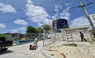 Barbados water supply network upgrade project